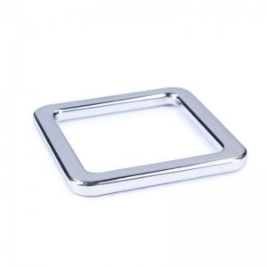 Rechteckringe für Taschen 30x30 mm silberfarbig 2 Stück.Taschenzubehör.Kurzwaren.Material aus Metall. - Handarbeit kaufen