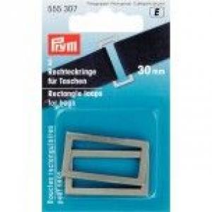 Rechteckringe für Taschen 30 mm, altsilberfarbig, 2 Stück in Packung.Kurzwaren,Taschezubehör. - Handarbeit kaufen