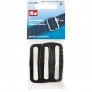 Leiterschnalle aus Kunststoff, 50mm.Farbe- schwarz.Taschenzubehör. Kurzwaren. Produkt Marke Prym. - Handarbeit kaufen