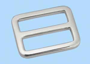 Spange 25mm (innen), Metall silberfatbig.Taschenzubehör.Kurzwaren. - Handarbeit kaufen