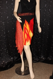 Lava-Flammen