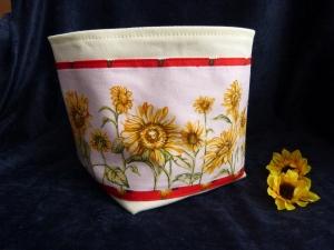kleines Utensilio für den Sommer mit Sonnenblumen - Handarbeit kaufen