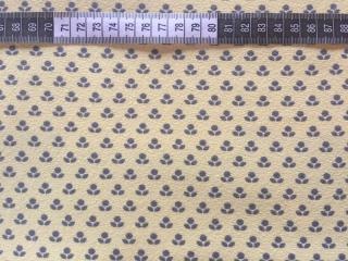 ✂   Jersey Baumwolle -  kleine Blümchen - gelb