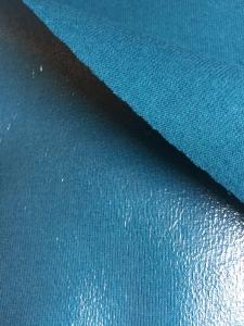 ✂   beschichteter BW Jersey, Raincoat blue, lillestoff