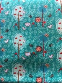 ✂ Jersey Baumwolle - Flowers and Trees von lillestoff