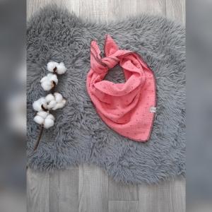 Musselintuch zum binden rosa - Handarbeit kaufen