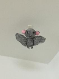 Fledermaus zur Deco in der Herbstzeit oder für Halloween - Handarbeit kaufen