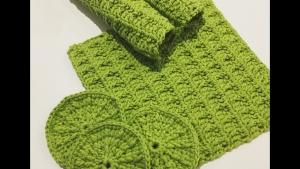Spültücher aus Baumwolle gehäkelt  - Handarbeit kaufen