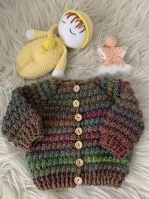Baby-Jäckchen in der Größe 56 / 62  - Handarbeit kaufen