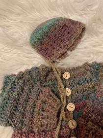 Baby-Mütze passend zu Artikel 18871.210514.174707 - Handarbeit kaufen