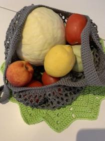 Edda-Bag Obstnetz für den Einkauf ohne Plastik - Handarbeit kaufen
