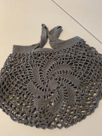 Baumwoll - Einkaufsnetz :)  Einkaufen ohne Plastik - Handarbeit kaufen