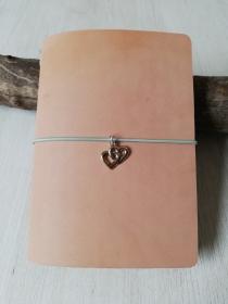 Machbar Ledernotizbuch Travelers Notebook natur A6 - Handarbeit kaufen