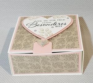 Schöne kleine Schubladenbox für besondere Anlässe - Handarbeit kaufen