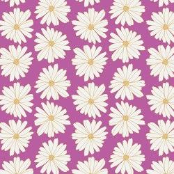 Baumwollstoff Meterware Art Gallery Pink Gänseblumen