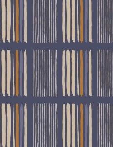 Baumwollstoff Meterware Art Gallery Blau Karo Lineup