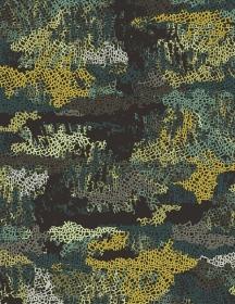 Baumwollstoff mit Tarnflecken // Art Gallery Camouflage Pretense // Camo Stoffe Meterware // Pima Baumwolle zum nähen // schwarz grün petrol