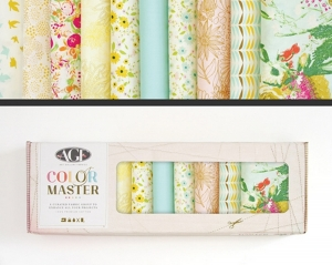 Stoffpaket Baumwolle 10 St. // AGF Color Master Gentle Spring // Patchwork Stoffe Paket  // Fat Quarters zum nähen // pastell