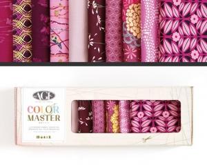 Stoffpaket Baumwolle 10 St. // AGF Color Master Vibrant Violet  // Patchwork Stoffe Paket  // Fat Quarters zum nähen // violett, purpur