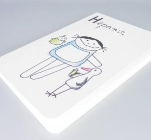 Hebamme Notizbuch, Hepame Beruf aus Kindermunde von nini san