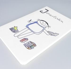 Journalistin Notizbuch von nini san, Jonerlistin Beruf aus Kindermunde