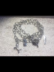 Handgemachtes wickelarmband aus nickelfreiem Messing