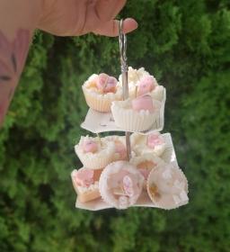 Cupcake Muffin Kerze Duftkerze Mottoparty Dekokerze Sweet 50er Jahre Cookie