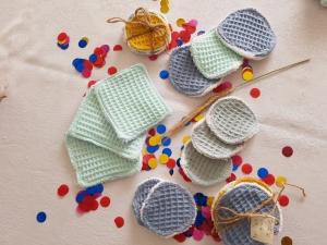 Pads Gesichtspflege Abschminkpads Schminkpads Baumwolle Nachhaltig Ökologisch Biologisch Waste free