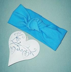 Stirnband Haarband Baby stylisches Knotenstirnband Kopfumfang 36-38 - Handarbeit kaufen