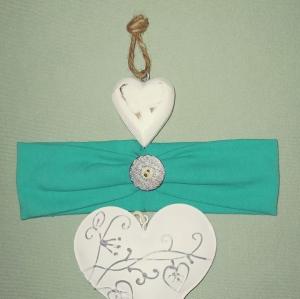 Stirnband Haarband Baby stylisches Stirnband mit Knopf Kopfumfang 39-41 cm - Handarbeit kaufen