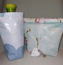 Lunchbag Set Aufbewahrung Lunch Brotzeit Pausenbrot Set bestellen - Handarbeit kaufen