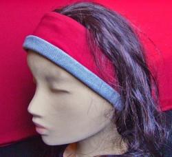 Stirnband mit Glasperlen-Schmucknadel