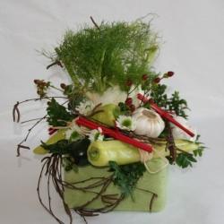 Schenk doch mal Gemüse statt Blumen