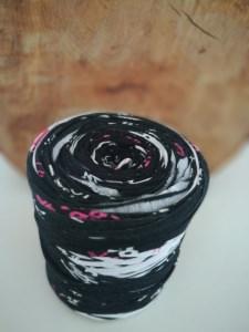 Neu und direkt vom Hersteller, Textilgarn blau/schwarz/pink!