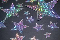 Sterne  Bügelbild 22 St. STARFLEX silber (Kopie id: 23751)