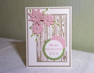 Glückwunschkarte zur Hochzeit / zum Hochzeitstag / zum Geburtstag