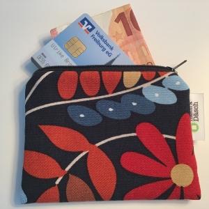 Geldbeutel in tollem robusten Stoff genäht - Handarbeit kaufen