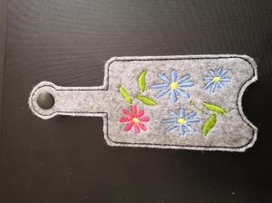 S-SH0003-001 Hülle für Desinfektionsmittel/ Tubentäschchen 50ml als Taschenbaumler Blumen