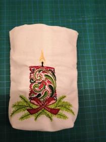 N-LB0002 Lichtbeutel/ Geschenkbeutel Kerze Gr. S