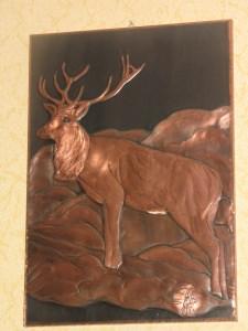 Kupferbild Hirsch