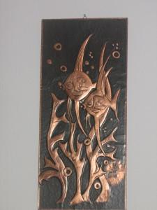 Kupferbild Fische