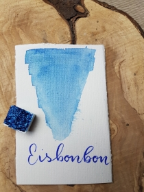Eisbonbon Shimmer Watercolor, Aquarell, halber Topf   - Handarbeit kaufen