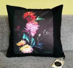 BLOSSOM Kissen Bio Baumwolle Malerei Künstlerkollektion Wohnen