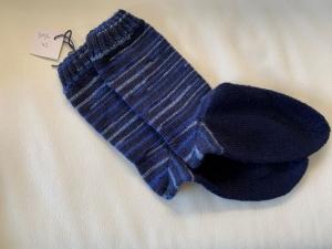 Gestrickte Socken für Männer/Jungen Größe 42 - Handarbeit kaufen