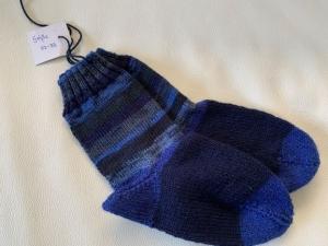 Gestrickte Socken für Jungen Größe 32/33 - Handarbeit kaufen