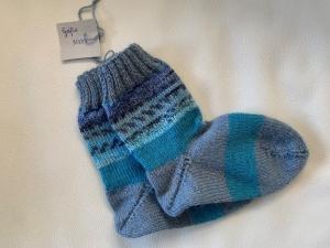 Gestrickte Socken für Jungen Größe 30/31 - Handarbeit kaufen