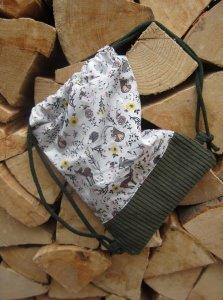 Kinderbeutel Waldtiere Cord
