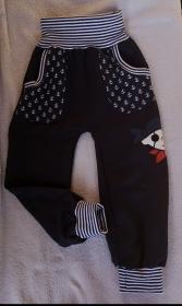 Babyhose /Pumphose- Pirat - in den Gr. 50/56 bis 122 aus Sweat  - Handarbeit kaufen