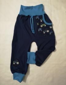 Babyhose / Kinder Pumphose - Trecker - in der Gr.50/56 bis 122  aus Sweat    - Handarbeit kaufen