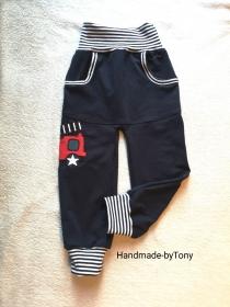 Babyhose / Kinder Pumphose - Feuerwehr 4 - in der Gr.62/68  bis 128  aus Jersey   - Handarbeit kaufen